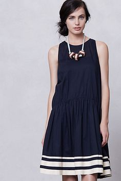 "DETAILS        By Karen Walker Runaway      Keyhole nape      Cotton; cotton lining at skirt      Dry clean      39""L      Imported         Style #: 26844381"