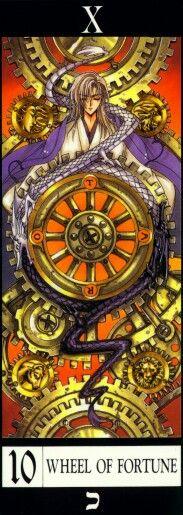 "Tarot X The Wheel Of Fortune: Clamp X/1999 Tarot ""Temperance"" (manga Tarot! I Love It"