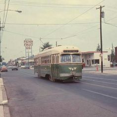 JAK NOTE: Trolleys were an alternative to buses on some routes.