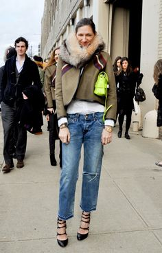 Jenna Lyons - Style Sightings