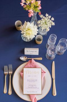 blush wedding menu | watercolor wedding menu | watercolor menu | blush and gold menu