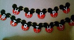 Birthday Banner by TwinkiesCreations on Etsy, $20.00