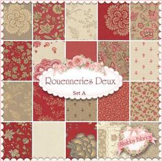 Rouenneries Duex set A by French General for Moda Fabrics
