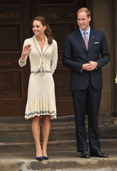 Kate Middleton royal tour of Canada and USA in dresses: Complete guide to the Duchess of Cambridge's outfits - Mirror Online Princess Kate Middleton, Kate Middleton Prince William, Kate Middleton Style, Prince William And Kate, Prince Edward, Duchess Kate, Duchess Of Cambridge, Issa Dresses, Princesa Real
