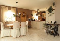 Столовые комнаты в Кантри. Автор - FingerHaus GmbH