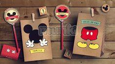 kit imprimible mickey vintage personalizado munki