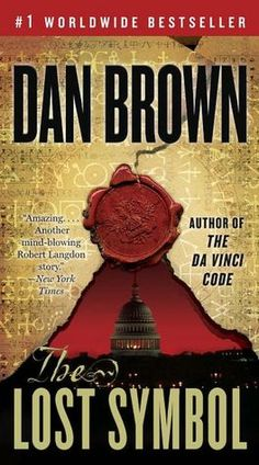 The Lost Symbol by Dan Brown. I enjoyed reading all his books. I knew what was going to happen way to soon in this book though.