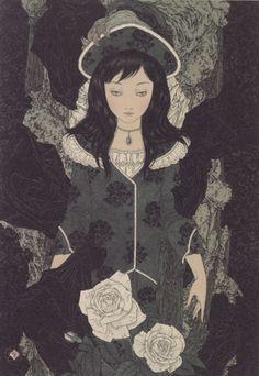 Throne of roses: Takato Yamamoto / 山本タカト