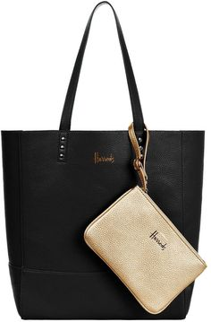 Harrods Fern Reversible Metallic Tote Bag Affiliate