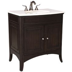 VERONA MEDIUM SINK CHEST - Ambella Home  #Furniture #Bathroom #Vanity #Storage #Sinkchest