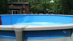Old school blue liner in Massachusetts.  http://www.abovegroundpoolbuilder.com/above-ground-pool-liners-massachusetts