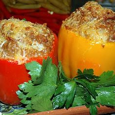 --------------+Stuffed Bell Peppers