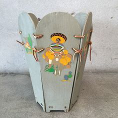Vintage Mexican Trash Can – UrbanAmericana