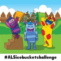 Bringing awareness to ALS and taking the #alsicebucketchallenge