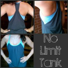 No Limit Tank. A yoga/gym top that shows just the right amount of skin but is loose enough to hide any imperfections (without making you look pregnant). Love it so much that I have, um, four. (I need an intervention.)
