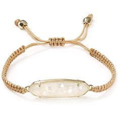 Kendra Scott Lyla Wrap Bracelet ($58) ❤ liked on Polyvore featuring jewelry, bracelets, bohemian jewellery, boho jewelry, bohemian bangles, boho bangles and boho chic jewelry