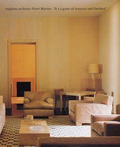 Peter Marino Фантастическое сочетание плитки и стен