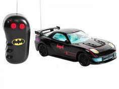 Carrinho de Controle Remoto Batman 3 Funções - Ascende os Faróis - Candide