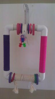 PVC swing - Medium Toys - Crazy For Birds Toy Shop