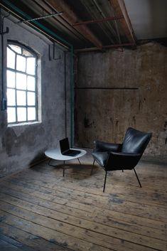 De Gaucho: een eigenwijze, ruimtelijk ogende fauteuil met ...