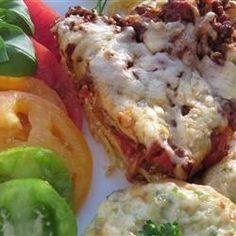 Spaghetti Pie II - Allrecipes.com