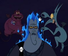 HUEHUEHUE anyways, requested Pain and Panic from Disney Hercules to be roasting marshmellows above Hades' head. Request: Pain and Panic Roasting Hades Cartoon Wallpaper, Disney Wallpaper, Hades Disney, Disney Love, Disney Magic, Disney Art, Cartoon Kunst, Cartoon Art, Disney And Dreamworks
