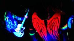 Neon Bodypaint Body Painting, The Darkest, Body Art, Glow, Statue, Image, Bodypainting, Body Paint, Body Mods