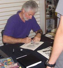 Cartoonist Paul Ryan  (September 23, 1949 – March 6, 2016)