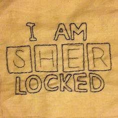 Sherlocked by KayOvel, free pattern from The Summer of Stitching on fandominstitches.com