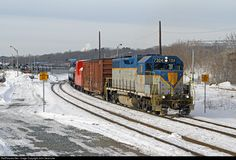 RailPictures.Net Photo: DH 7304 Delaware & Hudson EMD GP38-2 at Albany, New York by John Sesonske