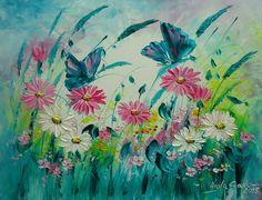 MAGICZNA ŁĄKA Viola Sado obraz olejny 35 x 45 cm (5755755513) - Allegro.pl - Więcej niż aukcje.