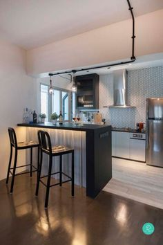 12 Must See Ideas On 4 Room 5 HDB Renovation Open Concept KitchenConcept