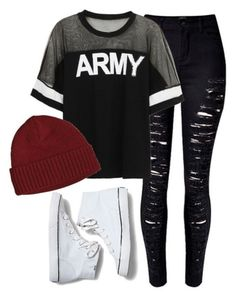 """I will love to wear this but to much cuts in this one."" by jungkookie123 ❤ liked on Polyvore"