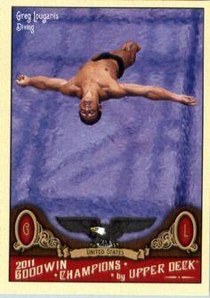 2011 Upper Deck Goodwin Champions 22 Greg Louganis - Diving - Sports Trading Card by Upper Deck. $1.87. 2011 Upper Deck Goodwin Champions 22 Greg Louganis - Diving - Sports Trading Card