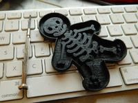 Never in the world of cookie cutters has one so scary been unleashed! Scare your children and friends!