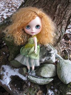 Briar  OOAK Blythe Art Doll  Forest Fairy by cindysowers on Etsy, $600.00