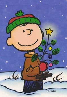 Charlie Brown Christmas / Handmade / Ready to hang picture plaque