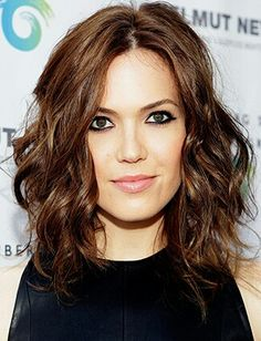 Wavy long bob- how I want my haircut to look. Some days I get close