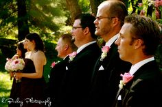 Brian takes his first look at his bride to be …  2010