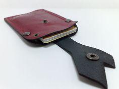 Handmade dark burgundy genuine leather Handcrafted Wallet