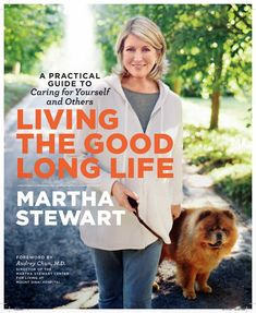 This is the cover of my newest book, (number 77!) Living The Good Long Life - a Practical Guide to Caring for Yourself and Others.