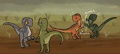 The raptors are so freaking adorable T-T. Jurassic World . Jurassic Park Raptor, Jurassic World Raptors, New Ducktales, Blue Jurassic World, Raptor Dinosaur, All Dinosaurs, Indominus Rex, Disney And Dreamworks, Prehistoric