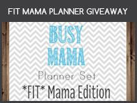 Get a chance to win printable planner set from Mama's Got It Together Etsy Shop.