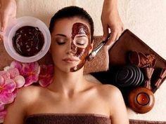 Шоколадный пилинг для лица