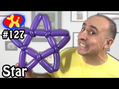 Star - Balloon Animal Lessons #127 - YouTube