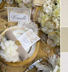 Inspirations from Chateau de Versailles France | San Diego Wedding Blog