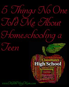 5 Things No One Told Me About Homeschooling a Teen