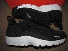 Nike Air Trainer Huarache Low Mens Training Shoes 9 Black White 749447 010 #Nike…