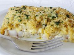 Bordelaise fish - Bordelaise fish 4 white fish fillets 4 shallots 1 clove of garlic 10 cl white wine Parsley Breadcru - Fish Recipes, Seafood Recipes, Snack Recipes, Cooking Recipes, Vegetarian Cooking, Healthy Snacks, Healthy Recipes, Diabetic Snacks, Healthy Drinks