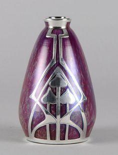 Loetz  Lilac Secessionist Vase - 1915.